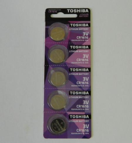 Baterie Toshiba 3V Litiu - CR1616