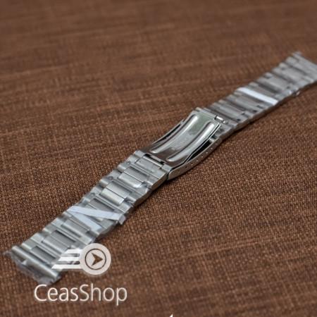 Bratara metalica argintie 22mm - 37514