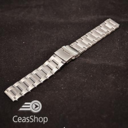 Bratara metalica argintie XL 20mm- 38977