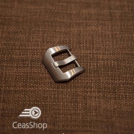 Catarama argintie otel satinat, tip PANERAI 20mm - 41531