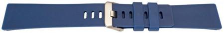 Curea din silicon pentru Fitbit Versa/Versa 2 albastra -60046