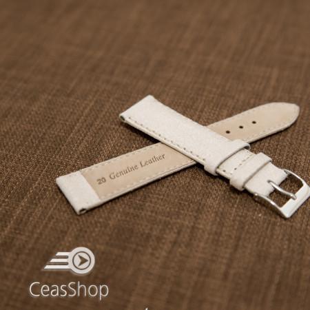 Curea piele ivoire vintage 18mm - 42242