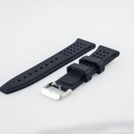 Curea silicon neagra 22mm - 31723