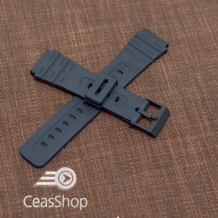 Curea tip Casio cauciuc - 36604 pentru MRW80M, MRW81, MW31, MW82, W84K, W59