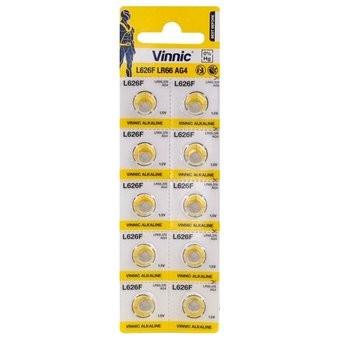 Baterie ceas Vinnic 377 (SR626SW) - AG 4 - Blister 10buc.