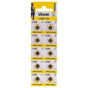 Baterie ceas Vinnic  396/G2 / L726 / SR726 / SR59 / - AG 2 - Blister 10buc.