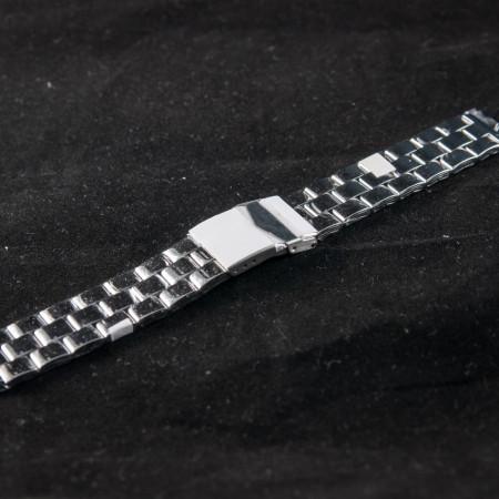 Bratara metalica argintie 18mm (20mm) - 37463