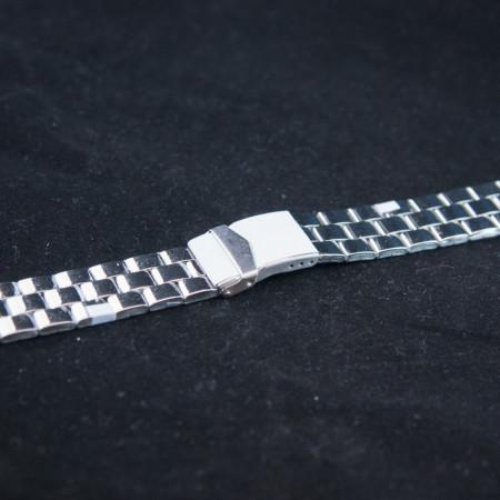 Bratara metalica argintie 22mm - 37465