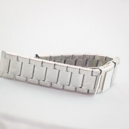 Bratara metalica argintie 24mm - 37454