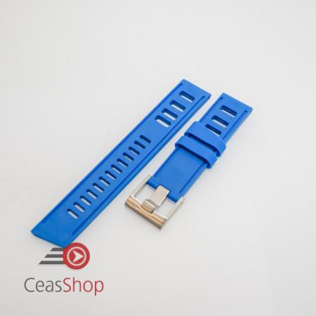 Curea ceas stil Isofrane albastră 22mm - 49786