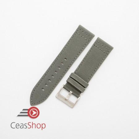 Curea piele tip Kevlar gri 18mm - 4160718