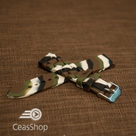 Curea silicon camuflaj 20mm - 45888
