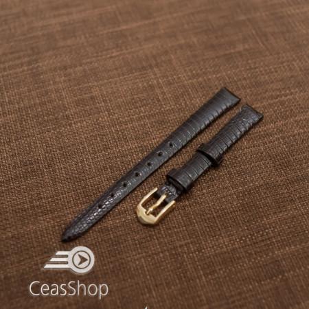 Curea soparla neagra fara cusatura 12mm - 38383