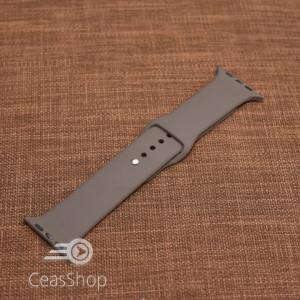 Curea silicon gri inchis  iWatch - 38mm