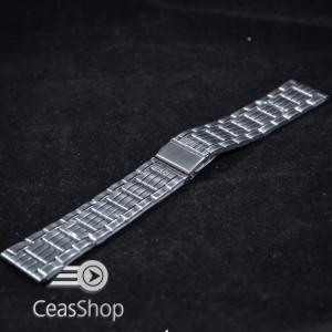 Bratara metalica argintie 20(22)mm - 38956