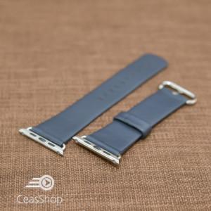 Curea piele albastră Apple Watch - 38mm