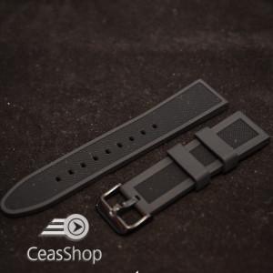 Curea  silicon neagra ceas sport  22mm - 38067