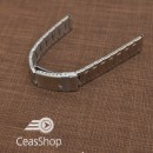 Bratara dama metalica argintie  16mm - 39397