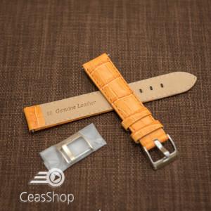 Curea model crocodil captusita portocalie  18m - 45786
