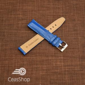 Curea model soparla captusita pe jumătate albastră  14mm - 45805