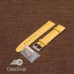 Curea model soparla captusita pe jumătate galbenă  20mm - 45823