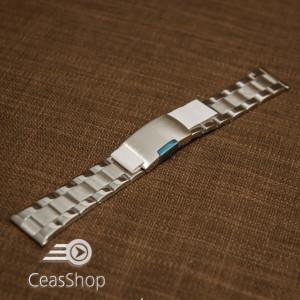 Bratara argintie 18mm capat drept - 40594