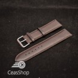 Curea captusita maro inchis 22mm XL - 36157