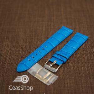 Curea model crocodil captusita albastră  18m - 45778