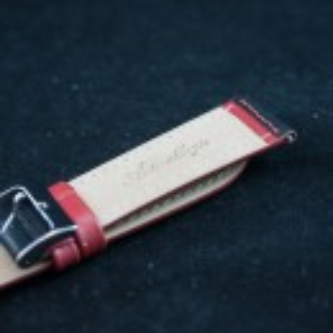 Curea sport doua tonuri neagra cu rosu - antialergica 22mm - 32780