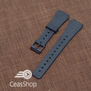 Curea tip Casio cauciuc - 36577 pentru AQ28W, F84W, F88W, W48, AQ51, AQ48