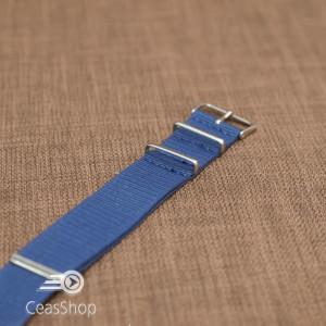 Curea NATO albastră 18mm - 40044