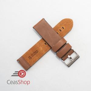 Curea piele maro vintage QR 18mm - 3830318