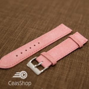 Curea piele roz vintage 22mm - 42250
