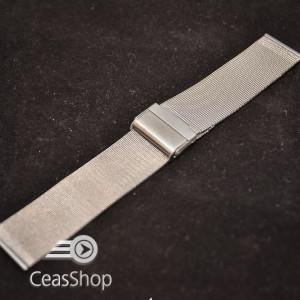 Bratara milaneza fina argintie 20mm -39866