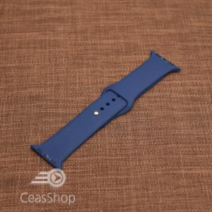 Curea silicon albastru navy  iWatch - 42mm