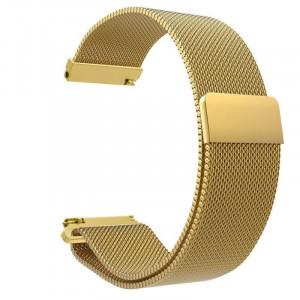 Bratara smartwatch aurie cu magnet si telescop Quick Release 22mm -56992
