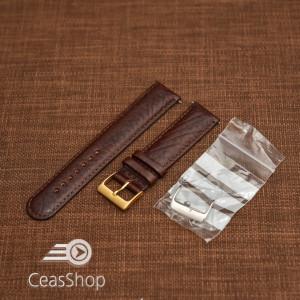 Curea antialergica maron inchis 18mm - 33104