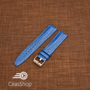 Curea model soparla captusita pe jumătate albastră  20mm - 45807