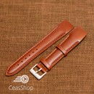 Curea piele vitel maro, open end, 16mm - 36023