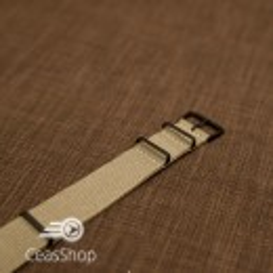 Curea NATO kaki 24mm catarame negre - 36973