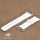 Curea piele alba Apple Watch - 42mm