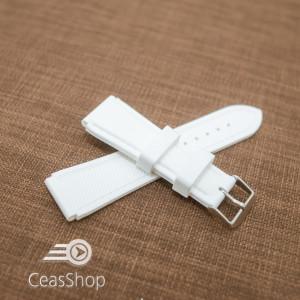 Curea silicon sport alba 20mm(23mm) - 40652