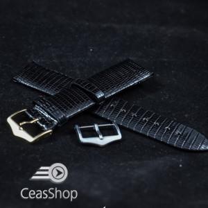 Curea soparla neagra XL fara cusatura 18mm - 38695