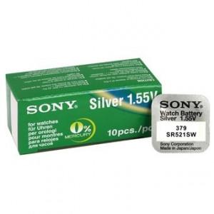 Baterie ceas Sony 379 SR521SW - AG0 - Cutie 10 buc