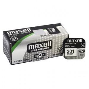 Baterie Maxell 301(SR43)- AG12