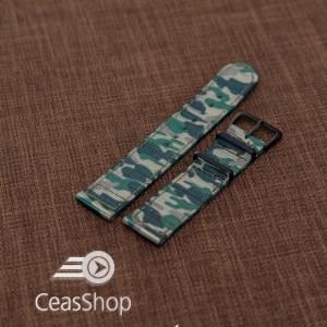Curea din tesatura de nylon camuflaj 18mm - 40034