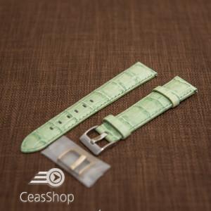 Curea model crocodil captusita verde  18m - 45782