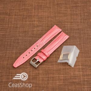 Curea model soparla captusita pe jumătate roz  18mm - 45818