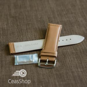 Curea piele vitel maro XL 26mm - 41454