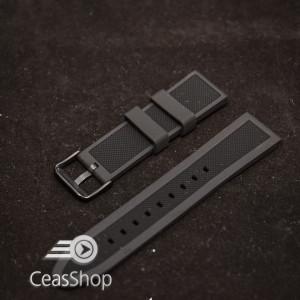 Curea  silicon neagra ceas sport  18mm - 38065